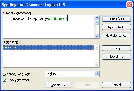 Gratis free english grammar checker software recommendations.