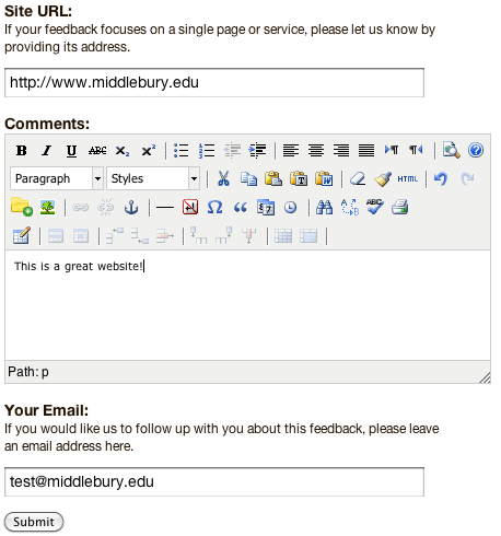Drupal Webform Email Templates - Library & ITS Wiki