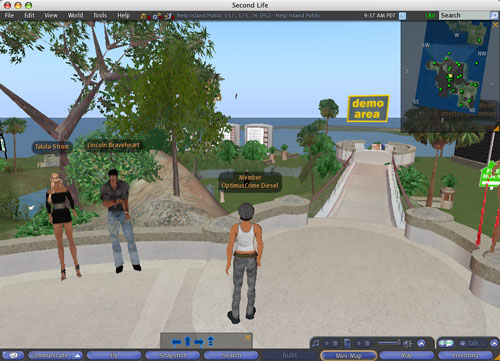 Second Life - Library & ITS Wiki